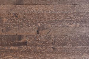 Quarter Sawn White Oak  														with  													Glacier