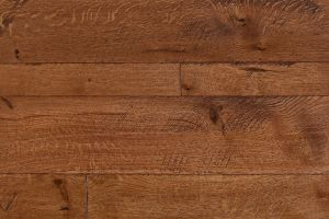 Quarter Sawn White Oak  														with  													Bourbon