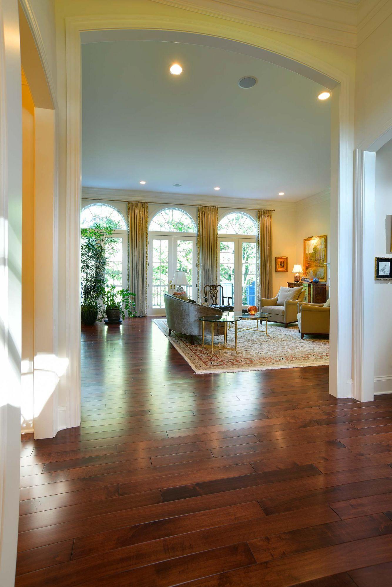 Elegant Maple Floor